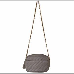 Giani Bernini Quilted Leather Crossbody Bag